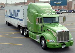 Wal Mart camion