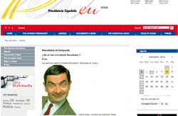 Spanish web UE Bean
