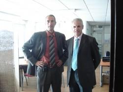 Gil DOAT et Nicolas ROGIER, fondateur de LOGISTIQUE DECARBONEE