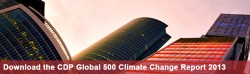 Global 500 Climate Change Report 2013