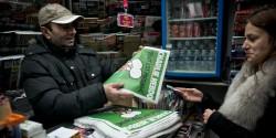 FRA: Paris: The new Charlie Hebdo arrived